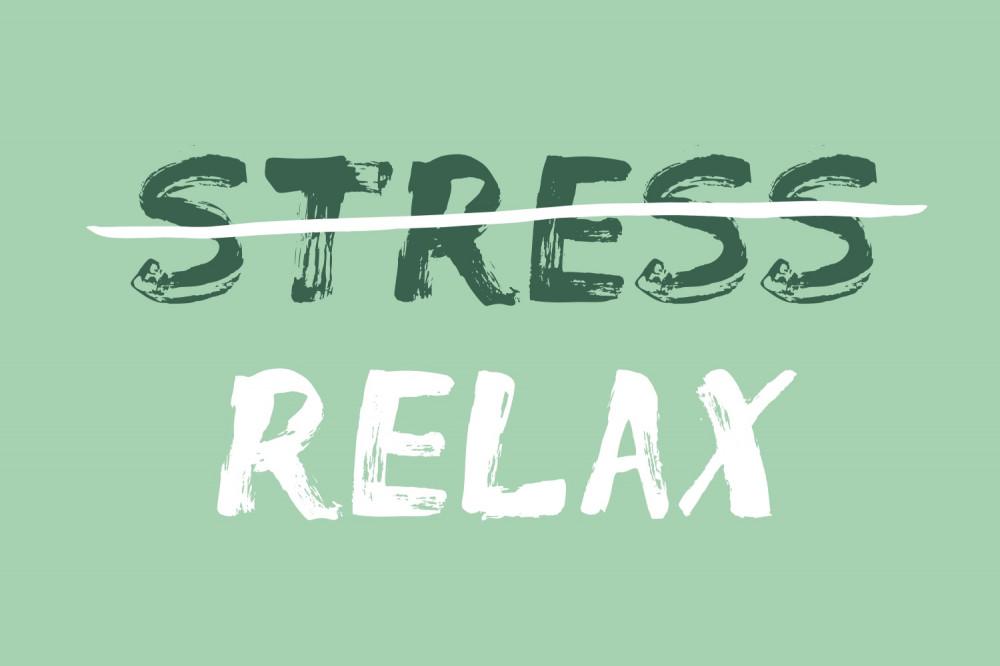 no stress please