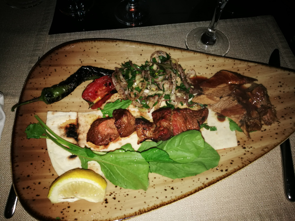 Traditionelle türkische Speisen bei der White Night.