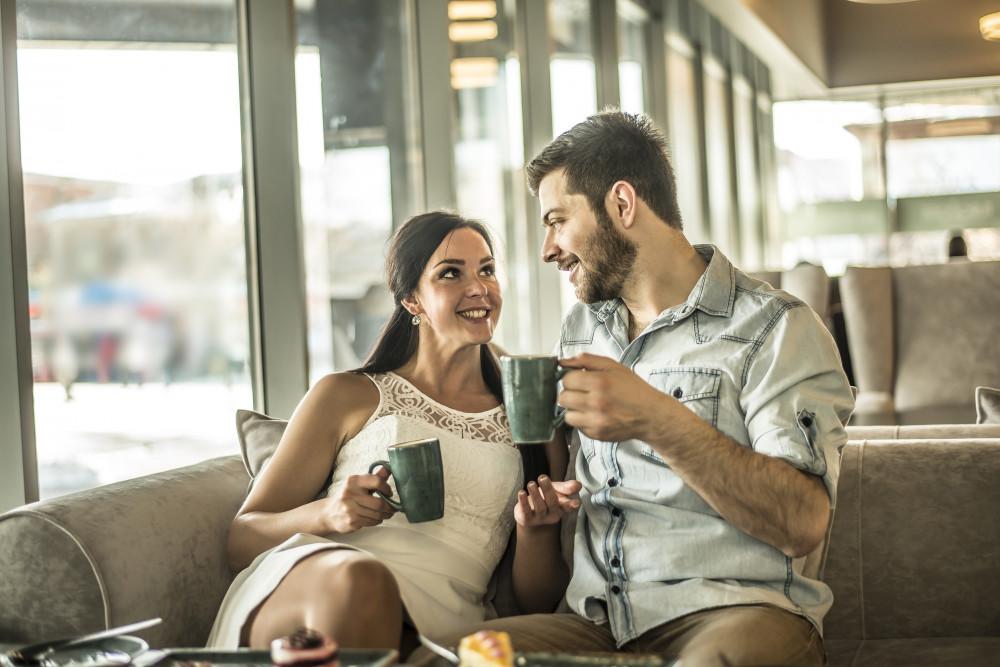 Signale der frau beim flirten