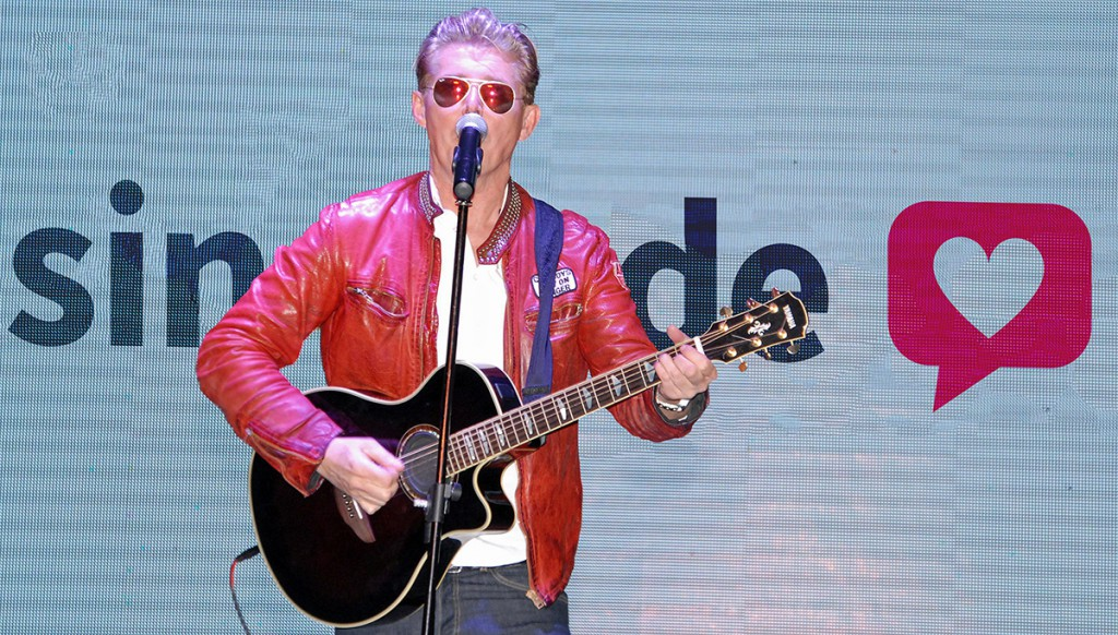 Achim Petry Live beim Single-Event