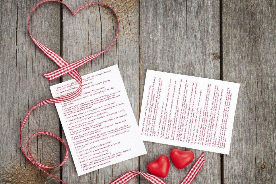 Eine Formel zum Verlieben: In 36 Fragen zur neuen Liebe