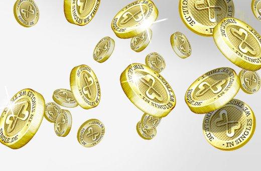 Die Single.de Coins sind da